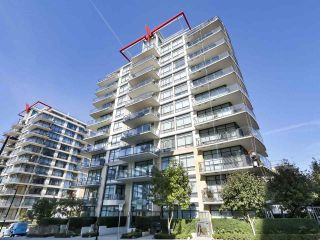 """Main Photo: 608 172 VICTORY SHIP Way in North Vancouver: Lower Lonsdale Condo for sale in """"Atrium at the Pier"""" : MLS®# R2454404"""