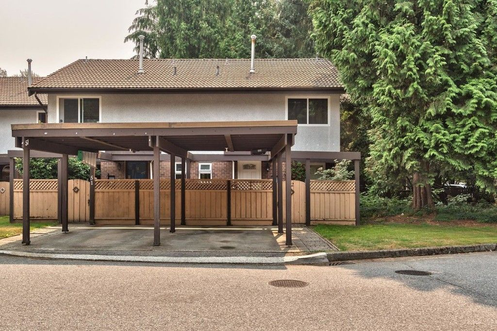 Main Photo: 52 3046 Coast Meridian Road in Port Coquitlam: Birchland Manor Townhouse for sale : MLS®# R2195163