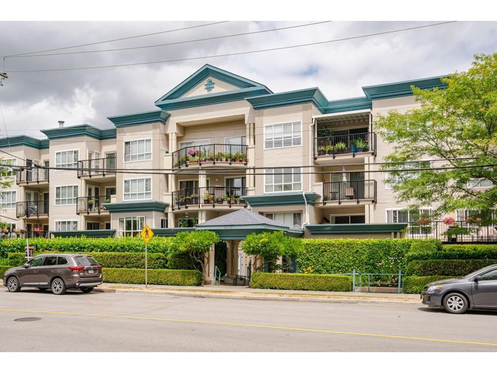 "Main Photo: 105 20727 DOUGLAS Crescent in Langley: Langley City Condo for sale in ""Joseph's Court"" : MLS®# R2605390"