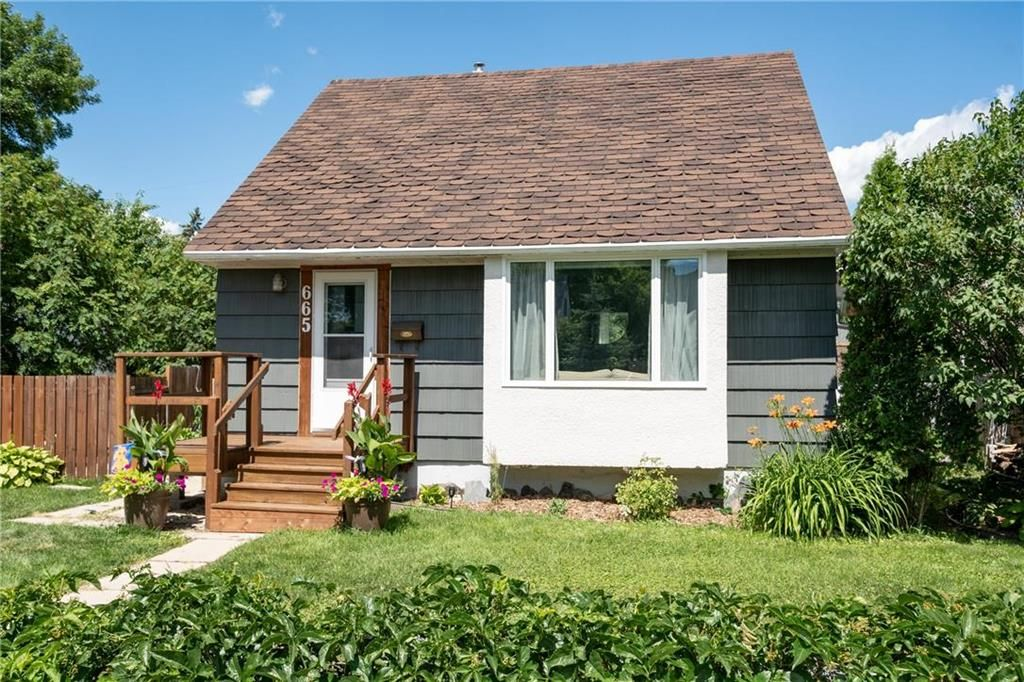 Photo 1: Photos: 665 Government Avenue in Winnipeg: Residential for sale (3B)  : MLS®# 202016023