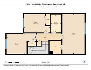Photo 48: 78 501 Youville Drive E in Edmonton: Zone 29 House Half Duplex for sale : MLS®# E4255513