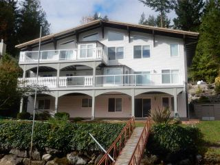 """Photo 1: 4457 FRANCIS PENINSULA Road in Madeira Park: Pender Harbour Egmont House for sale in """"Gerran's Bay"""" (Sunshine Coast)  : MLS®# R2009213"""