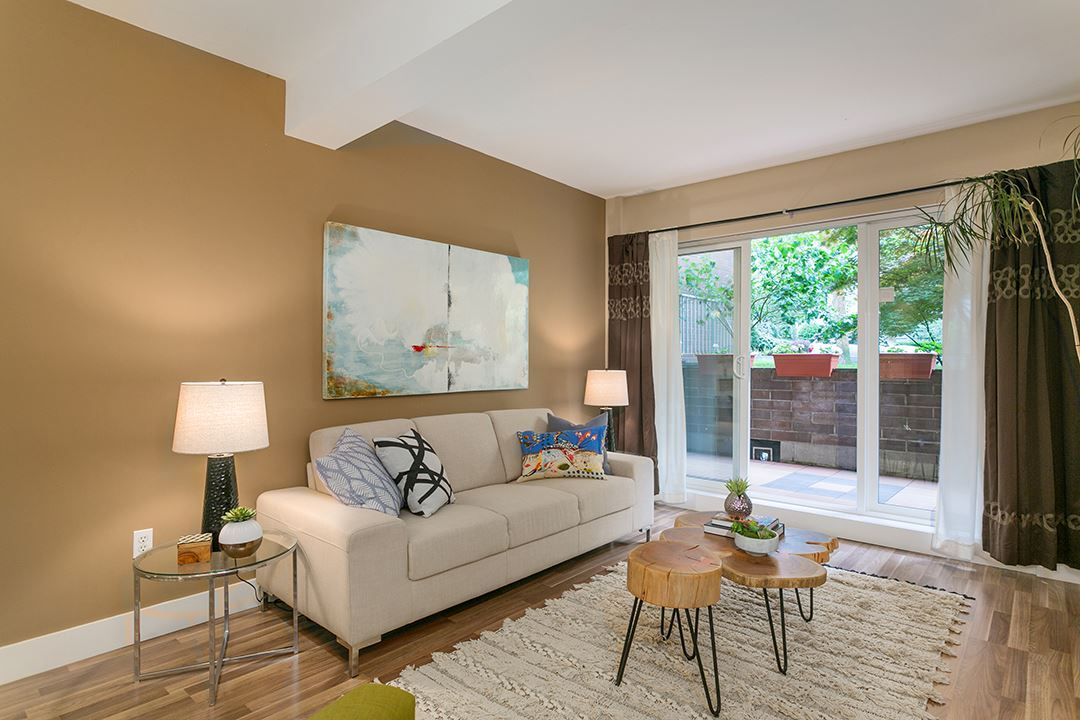 "Main Photo: 102 1655 NELSON Street in Vancouver: West End VW Condo for sale in ""Hempstead Manor"" (Vancouver West)  : MLS(r) # R2179830"