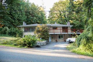 Photo 1: 4181 ROSE Crescent in West Vancouver: Sandy Cove House for sale : MLS®# R2102445