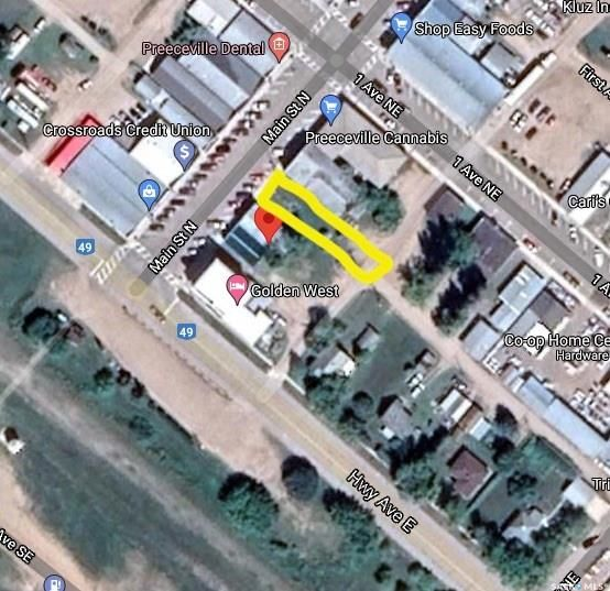 Main Photo: 20 Main Street North in Preeceville: Commercial for sale : MLS®# SK851725