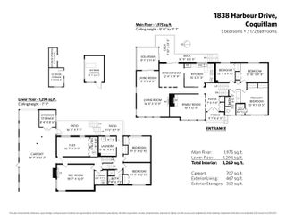 """Photo 37: 1838 HARBOUR Drive in Coquitlam: Harbour Place House for sale in """"Harbour Chines"""" : MLS®# R2618895"""