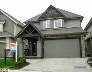 Photo 1: 21250 83A Avenue in Langley: Willoughby Heights House for sale : MLS®# F1004690