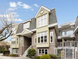 """Photo 1: 735 W 7TH Avenue in Vancouver: Fairview VW Townhouse for sale in """"The Fountains"""" (Vancouver West)  : MLS®# R2544086"""