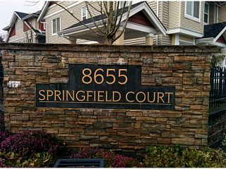 """Photo 16: 5 8655 159TH Street in Surrey: Fleetwood Tynehead Townhouse for sale in """"SPRINGFIELD COURT"""" : MLS®# F1406166"""