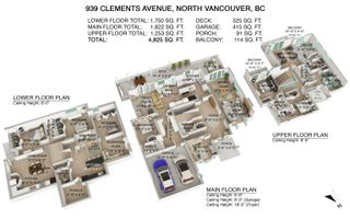 Photo 37: 939 CLEMENTS AVENUE in North Vancouver: Canyon Heights NV House for sale : MLS®# R2619400