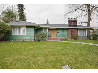 Photo 1: 4925 Queensland Road in Vancouver: University VW House  (Vancouver West)  : MLS®# V1108108