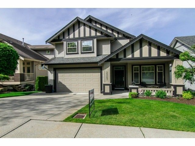 """Main Photo: 3327 BLOSSOM Court in Abbotsford: Abbotsford East House for sale in """"The Highlands"""" : MLS®# F1411809"""