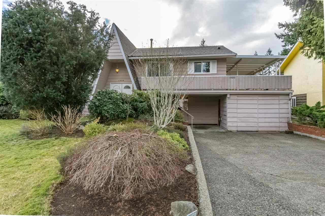 Main Photo: 1600 EDEN Avenue in Coquitlam: Central Coquitlam House for sale : MLS®# R2234330