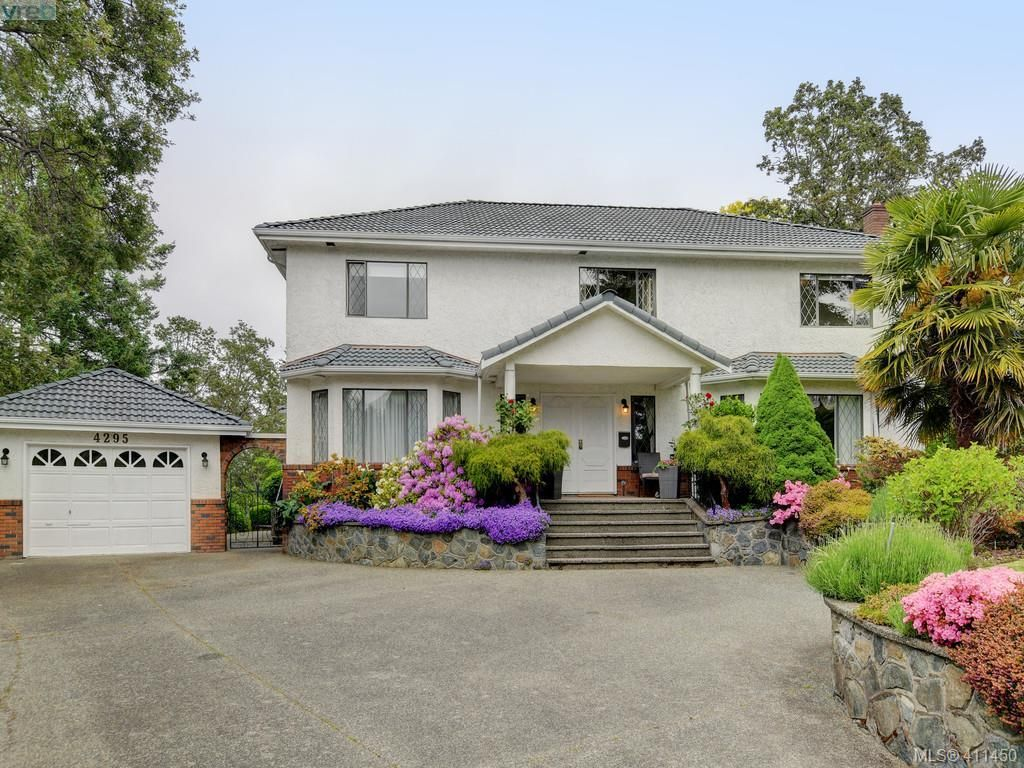 Main Photo: 4295 Oakfield Cres in VICTORIA: SE Lake Hill House for sale (Saanich East)  : MLS®# 815763
