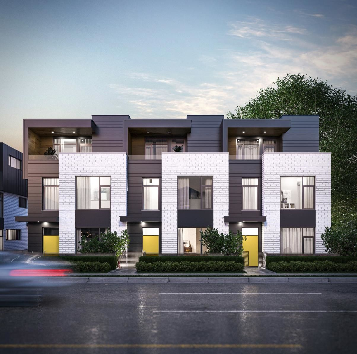 """Main Photo: TH3 6778 OAK Street in Vancouver: South Cambie Townhouse for sale in """"OAK+52 Townhomes"""" (Vancouver West)  : MLS®# R2622612"""