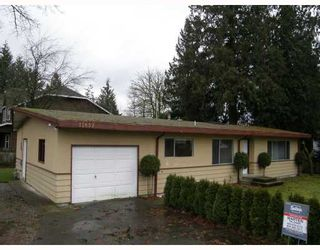 Photo 1: 11637 203RD Street in Maple_Ridge: Southwest Maple Ridge House for sale (Maple Ridge)  : MLS®# V682722