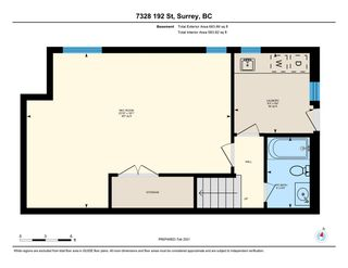 Photo 33: 7328 192 Street in Surrey: Clayton 1/2 Duplex for sale (Cloverdale)  : MLS®# R2536920