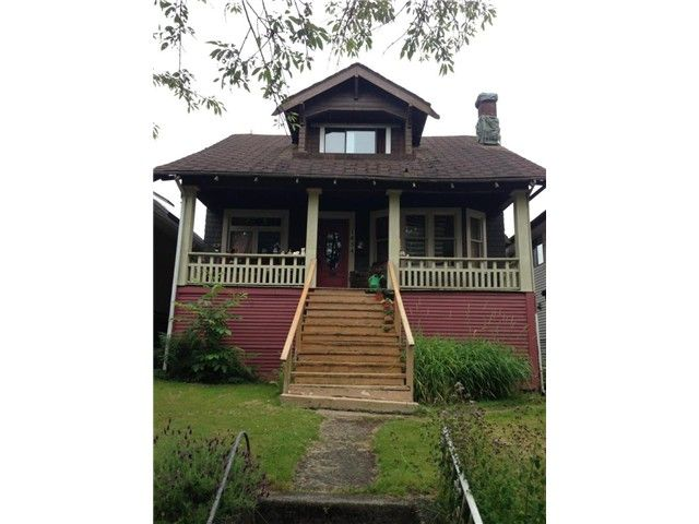 "Main Photo: 1454 E 20TH Avenue in Vancouver: Knight House for sale in ""CEDAR COTTAGE"" (Vancouver East)  : MLS®# V1074325"