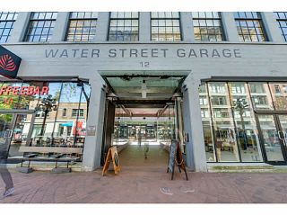 """Photo 18: 604 12 WATER Street in Vancouver: Downtown VW Condo for sale in """"WATER STREET GARAGE"""" (Vancouver West)  : MLS®# V1119497"""