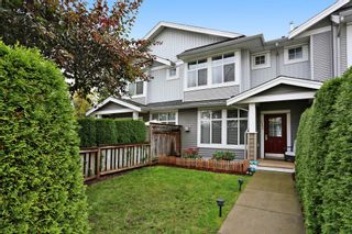 "Photo 1: 113 20449 66 Avenue in Langley: Willoughby Heights Townhouse for sale in ""Nature's Landing"" : MLS®# R2128624"