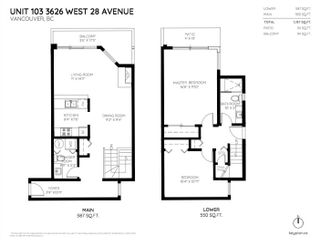 Photo 20: 103 3626 W 28TH Avenue in Vancouver: Dunbar Townhouse for sale (Vancouver West)  : MLS®# R2256411