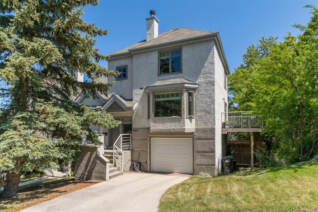 Main Photo: 1604 16 Street SW in Calgary: Sunalta Row/Townhouse for sale : MLS®# A1120608
