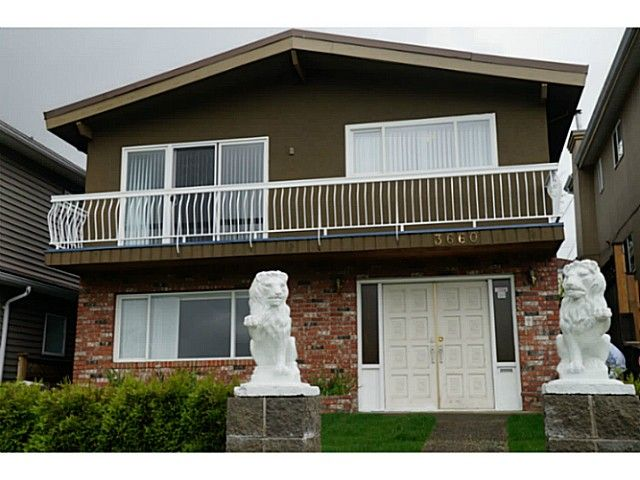 Main Photo: 3660 Tanner Street in Vancouver: Collingwood VE House for sale (Vancouver East)  : MLS®# V1014362