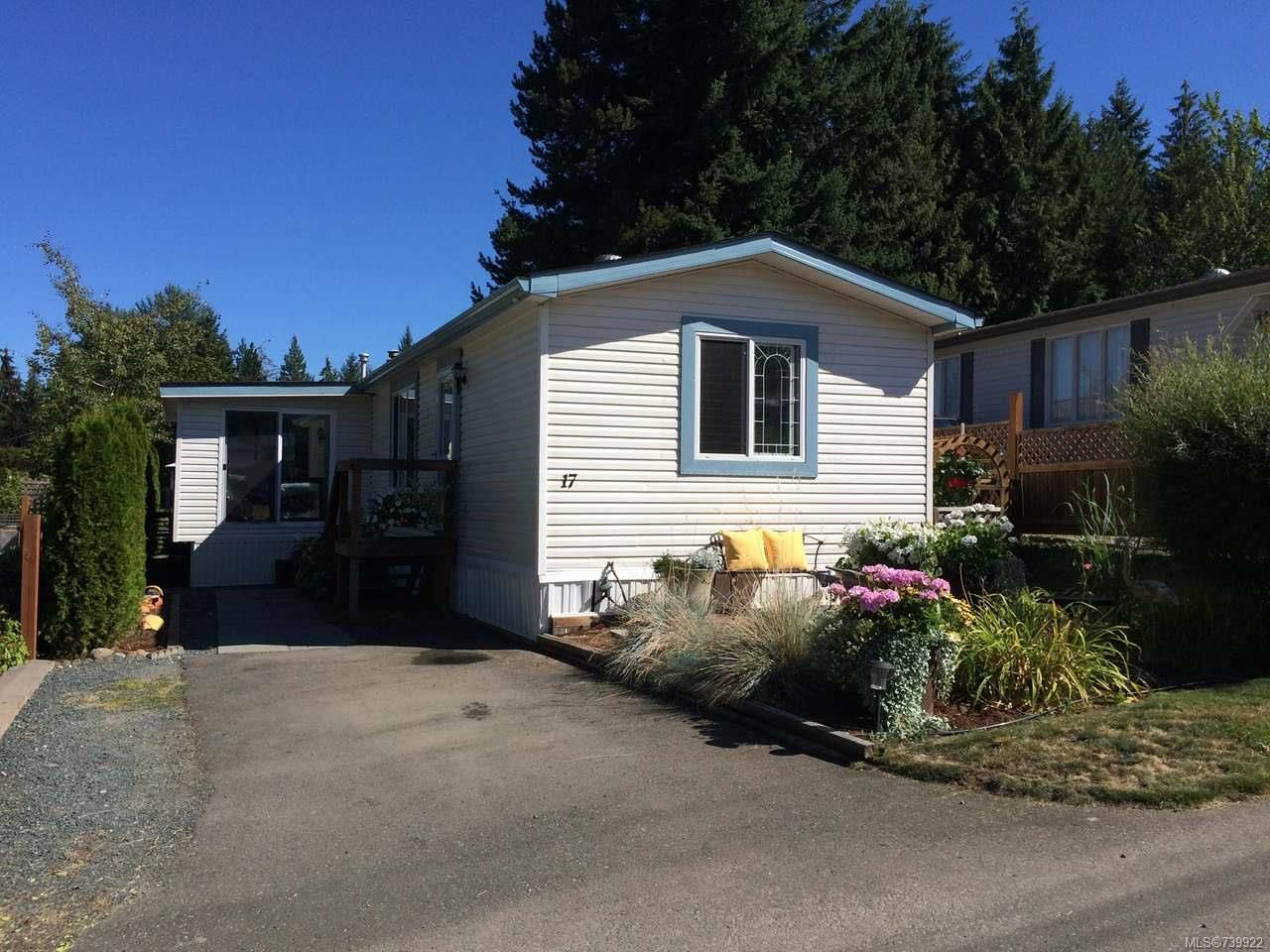 Main Photo: 17 3100 RINVOLD ROAD in HILLIERS: PQ Errington/Coombs/Hilliers Manufactured Home for sale (Parksville/Qualicum)  : MLS®# 739922