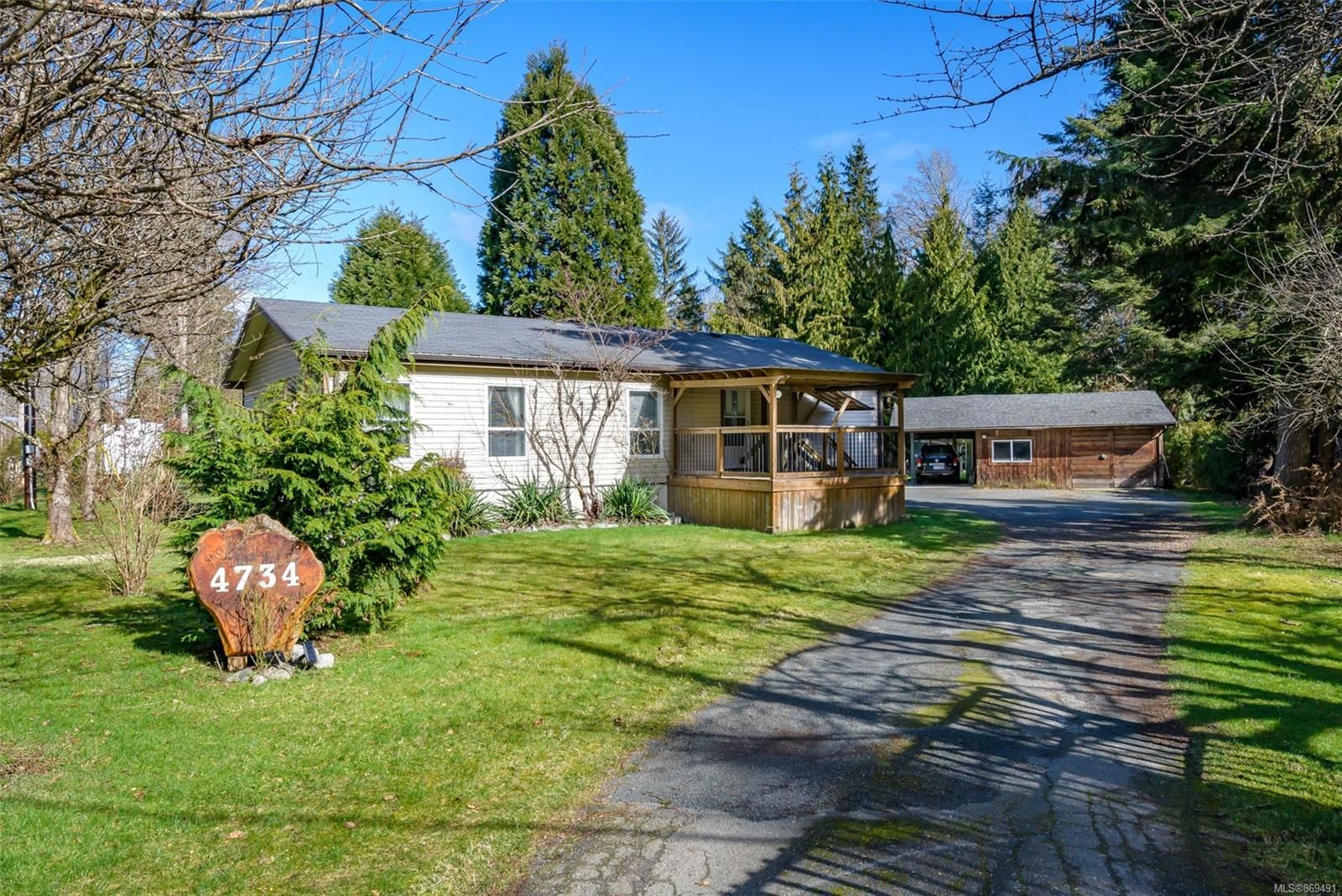 Main Photo: 4734 Wimbledon Rd in : CR Campbell River South Manufactured Home for sale (Campbell River)  : MLS®# 869491