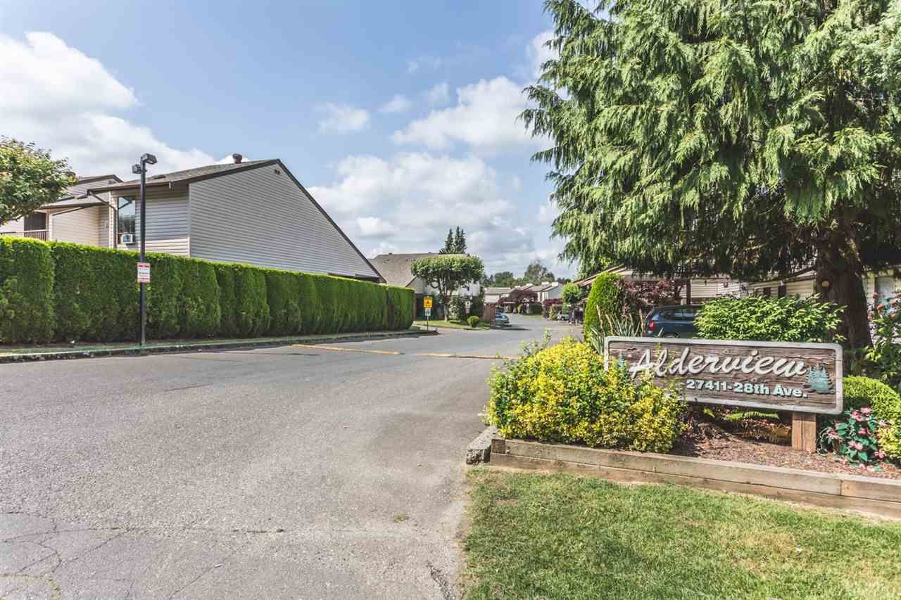 Main Photo: 285 27411 28 AVENUE in Langley: Aldergrove Langley Townhouse for sale : MLS®# R2072746