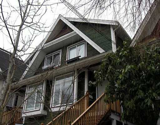 Main Photo: 1528 KITCHENER ST in Vancouver: Grandview VE 1/2 Duplex for sale (Vancouver East)  : MLS®# V576070