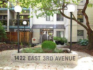"""Photo 1: 319 1422 E 3RD Avenue in Vancouver: Grandview Woodland Condo for sale in """"La Contessa"""" (Vancouver East)  : MLS®# R2490928"""