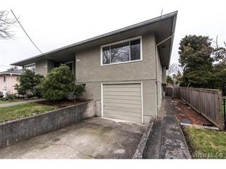 Photo 3: 1607 Chandler Ave in VICTORIA: Vi Fairfield East Half Duplex for sale (Victoria)  : MLS®# 753476