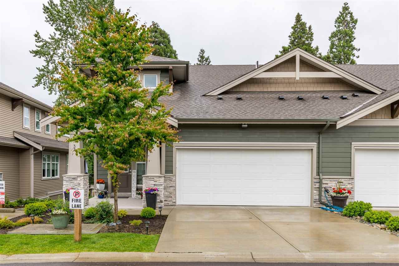 """Main Photo: 37 7138 210 Street in Langley: Willoughby Heights Townhouse for sale in """"Prestwick"""" : MLS®# R2473747"""