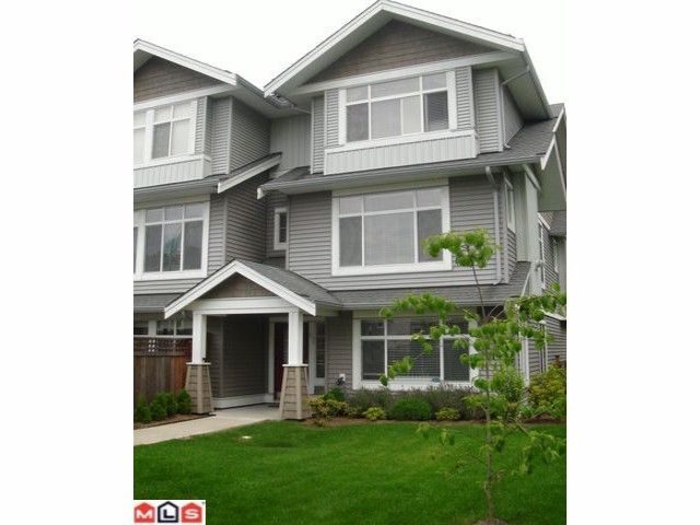 """Main Photo: 61 19330 69TH Avenue in Surrey: Clayton Townhouse for sale in """"MONTEBELLO"""" (Cloverdale)  : MLS®# F1018264"""