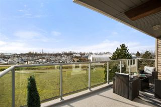 """Photo 1: 322 5700 ANDREWS Road in Richmond: Steveston South Condo for sale in """"RIVERS REACH"""" : MLS®# R2545416"""