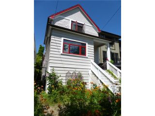 Photo 1: 1955 CHARLES Street in Vancouver: Grandview VE House for sale (Vancouver East)  : MLS®# V1089670