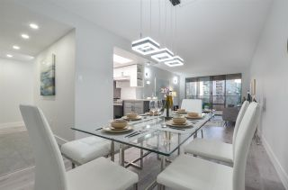 """Photo 1: 406 4194 MAYWOOD Street in Burnaby: Metrotown Condo for sale in """"PARK AVENUE TOWERS"""" (Burnaby South)  : MLS®# R2566232"""