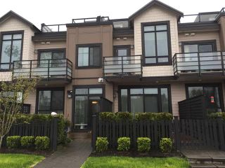 Photo 1: 4 100 Wood Street in : Queensborough Townhouse for sale (New Westminster)  : MLS®# r2157697