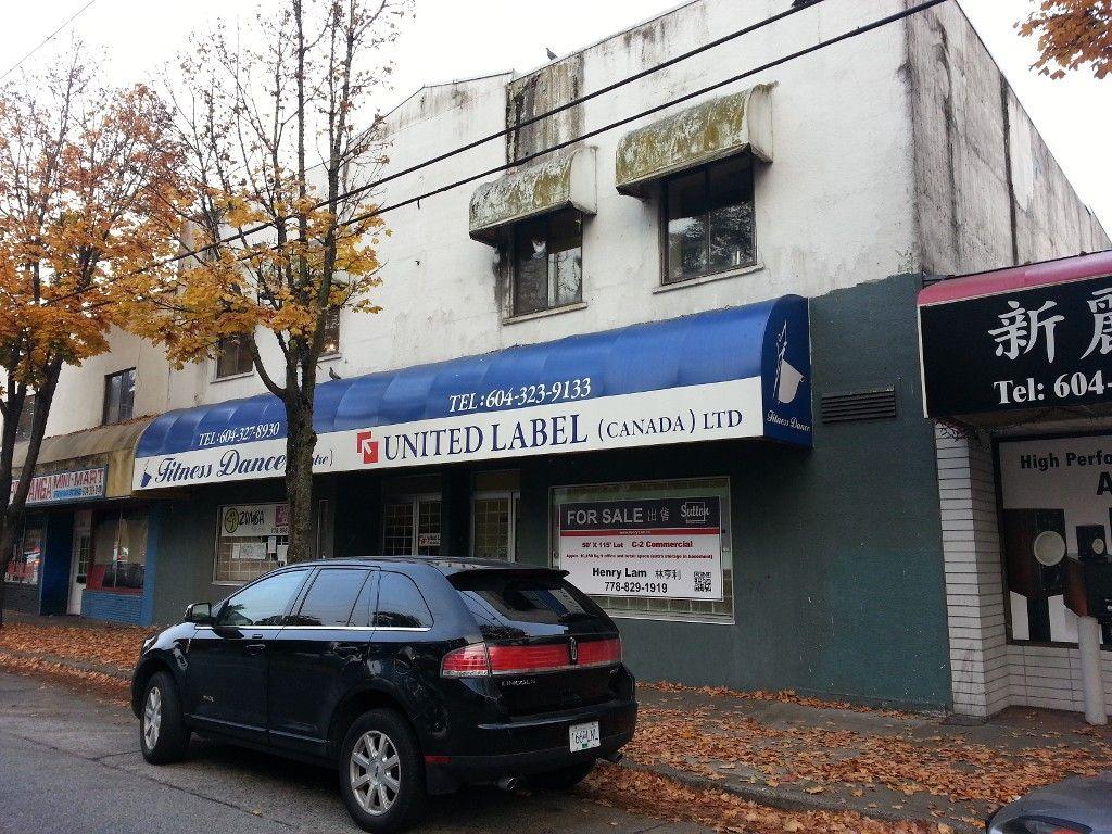 Main Photo: 5780 FRASER Street in VANCOUVER: Fraser VE Commercial for sale (Vancouver East)  : MLS®# V4037731