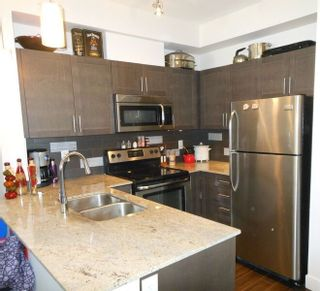 """Photo 6: 214 13468 KING GEORGE Boulevard in Surrey: Whalley Condo for sale in """"Brookland"""" (North Surrey)  : MLS®# R2111340"""