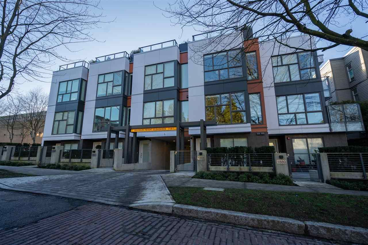 Main Photo: 1888 FRANCES STREET in Vancouver: Hastings East Townhouse for sale (Vancouver East)  : MLS®# R2326265