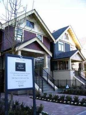 """Photo 3: 5 1425 W 11TH AV in Vancouver: Fairview VW Townhouse for sale in """"1425 WEST ELEVENTH"""" (Vancouver West)  : MLS®# V522061"""