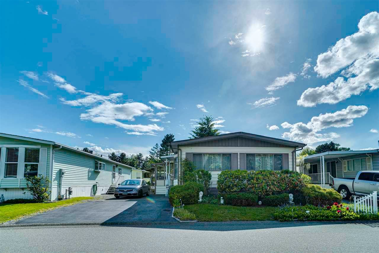 """Main Photo: 18 145 KING EDWARD Street in Coquitlam: Maillardville Manufactured Home for sale in """"MILL CREEK VILLAGE"""" : MLS®# R2575848"""