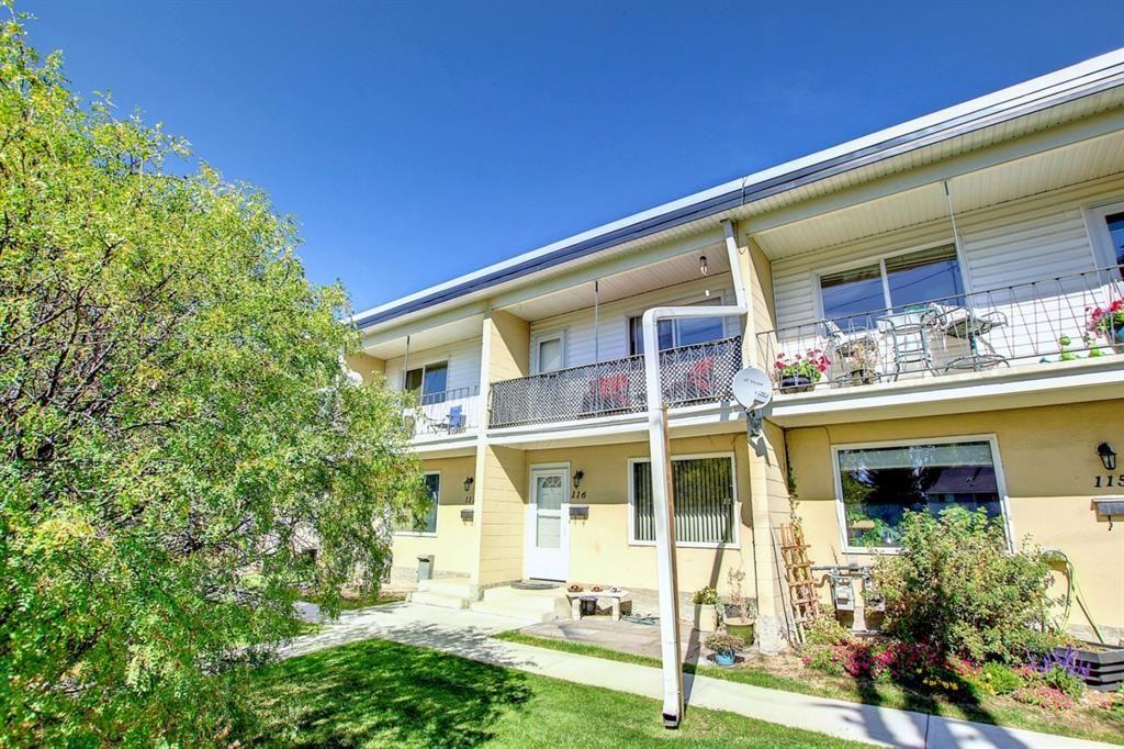 Main Photo: 116 2211 19 Street NE in Calgary: Vista Heights Row/Townhouse for sale : MLS®# A1147082