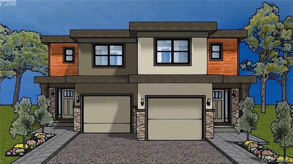 Main Photo: A 832 Old Esquimalt Rd in VICTORIA: Es Old Esquimalt Half Duplex for sale (Esquimalt)  : MLS®# 780776