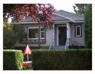 Photo 1: 6520 VINE Street in Vancouver: S.W. Marine House for sale (Vancouver West)  : MLS®# V667789