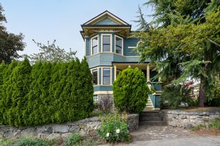 """Photo 1: 815 MILTON Street in New Westminster: Uptown NW House for sale in """"Brow of the Hill"""" : MLS®# R2620655"""