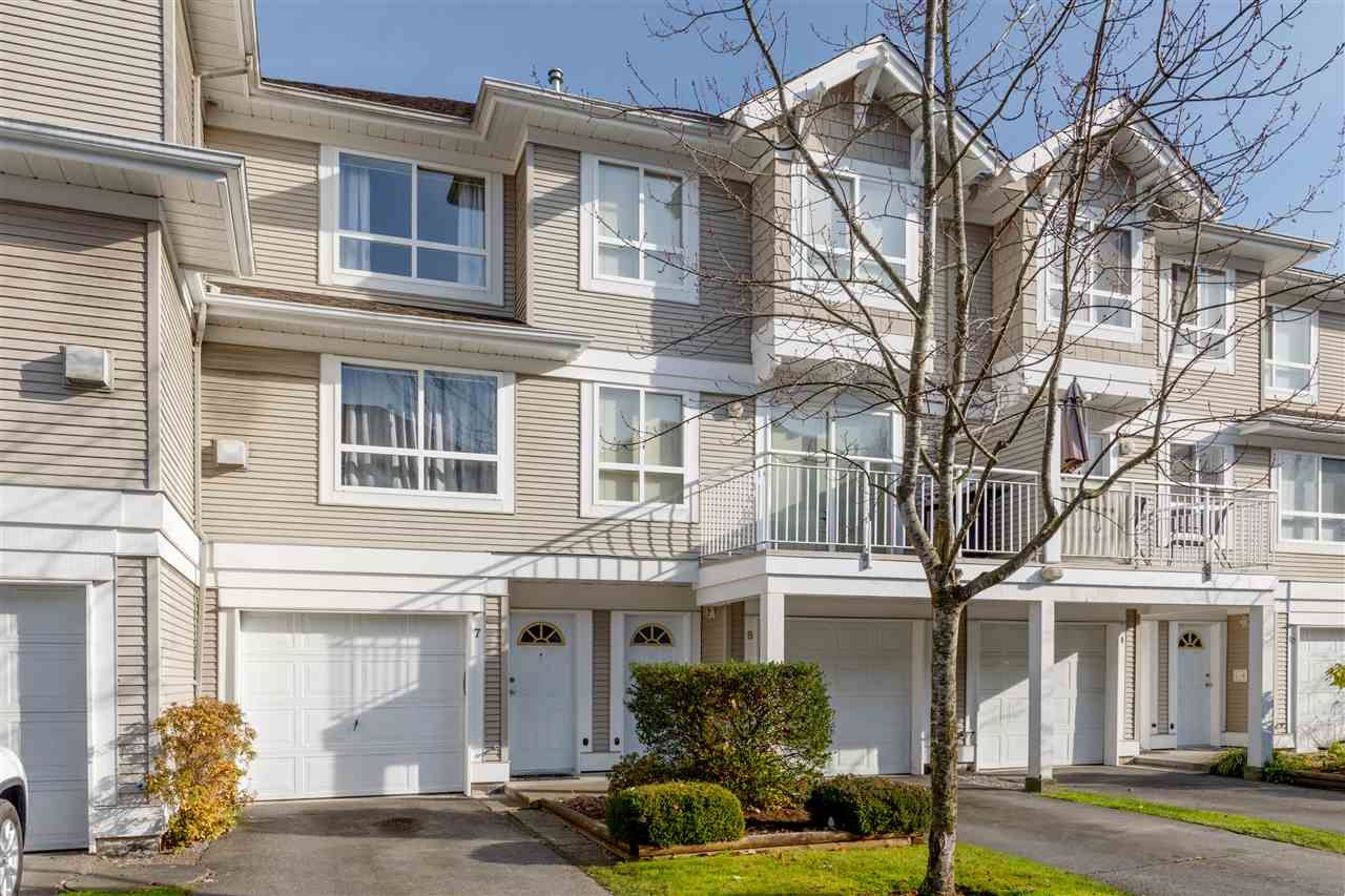 """Main Photo: 7 20890 57 Avenue in Langley: Langley City Townhouse for sale in """"APSEN GABLES"""" : MLS®# R2417591"""
