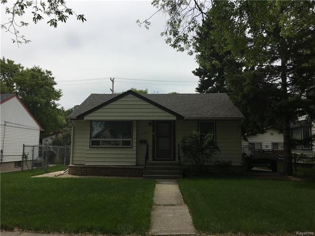 Main Photo: 136 Blenheim Ave. in Winnipeg: St. Vital House for sale (2D)  : MLS®# 181550303